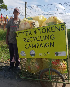 Litter4tokens presentation about the Circular Economy at Harvard
